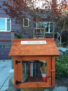 New Little Free Library at 97th & Roosevelt.